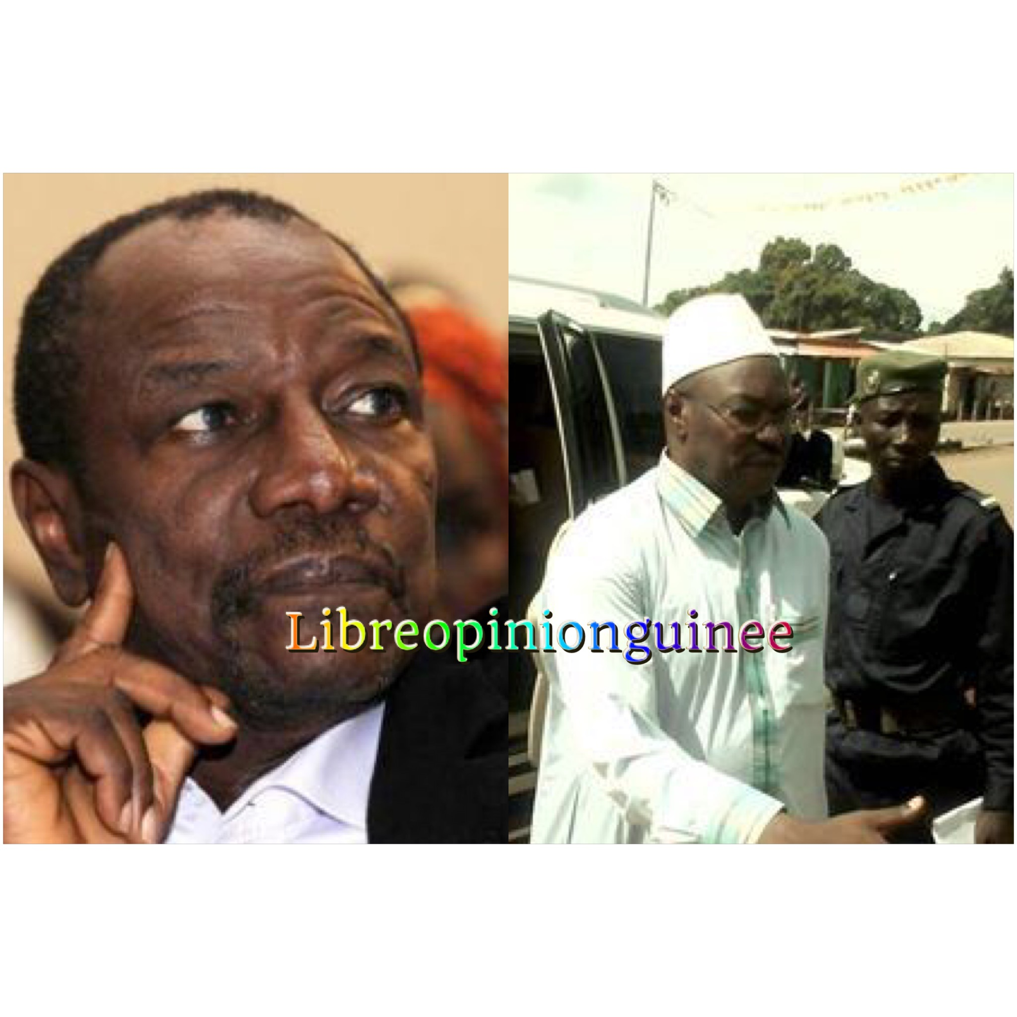 Alpha Conde et Ousmane Kaba