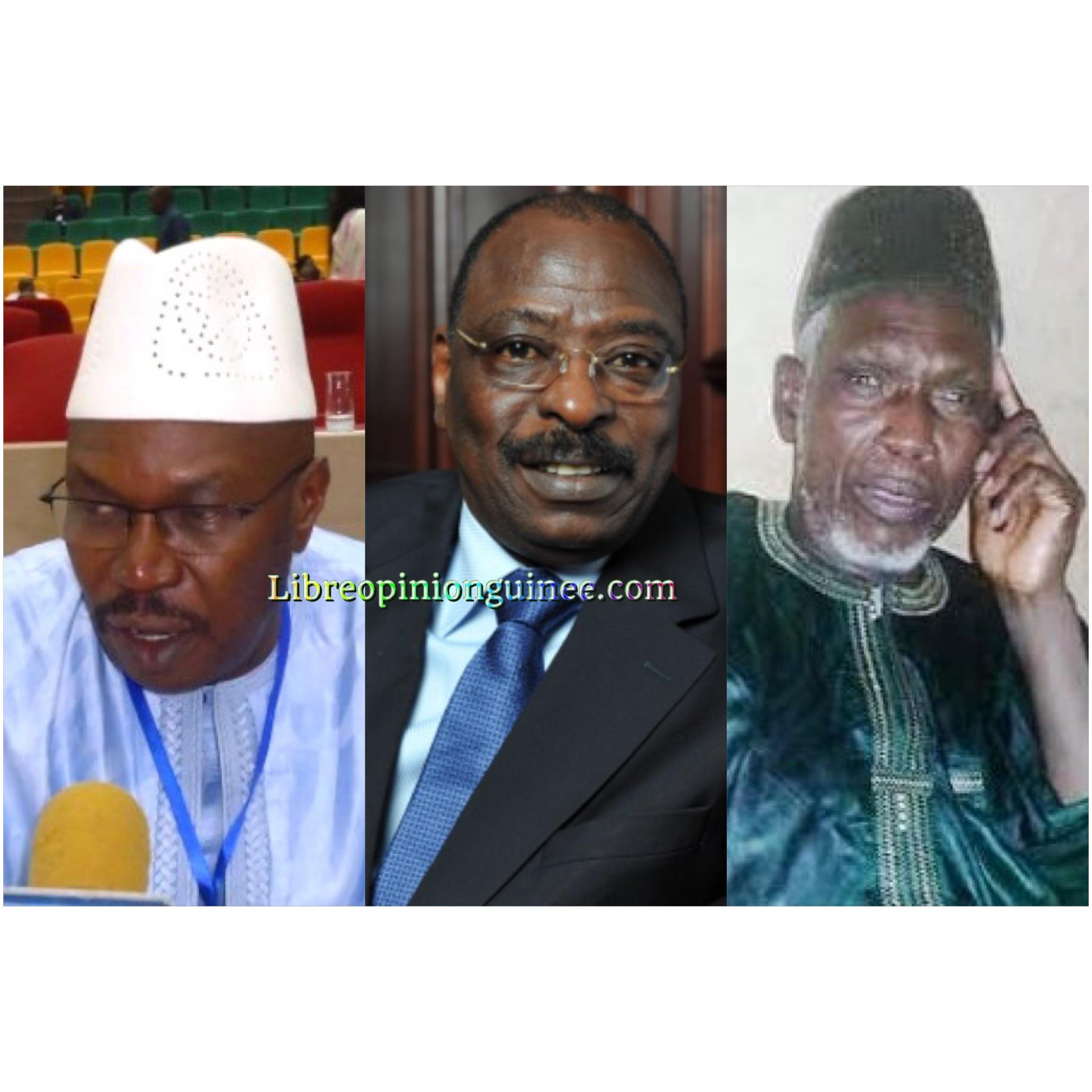 Ousmane Kaba, Mamadi Diawara et sekou savane