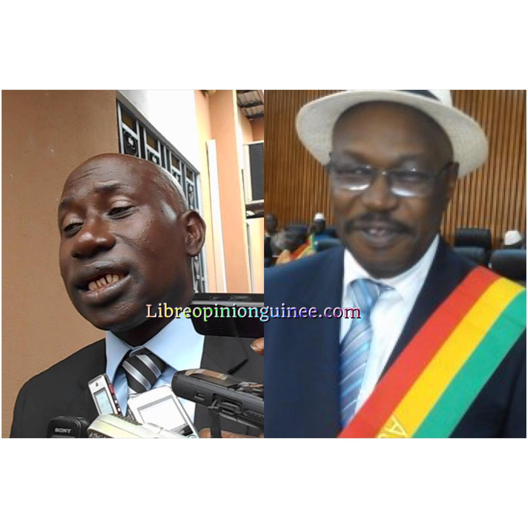 Ousmane Kaba et Makanera Kake