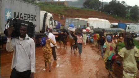 Pluie conakry