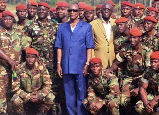 L'armée guinéenne et Alpha Conde assainissement de conakry