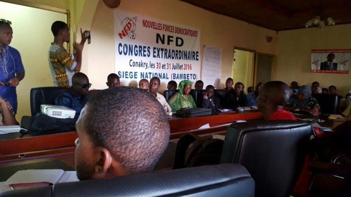 NFD congrès extra ordinaire