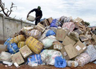 Ordure et drogue à conakry