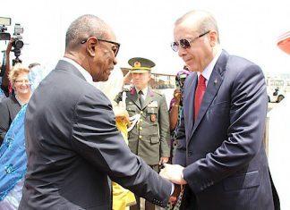 Alpha Conde et Erdogan
