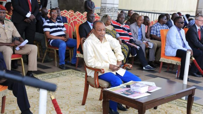 Alpha Conde President de la Guinee