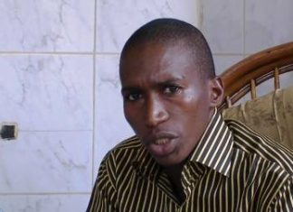 Ahmed Tidiane sylla chargé de communication de l'ufr