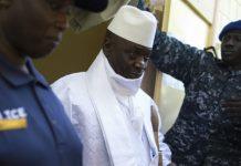Yahya Jammeh président Gambien