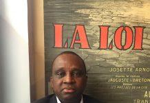Mamadou Antonio Souaré fédération Guinéenne de Football à Paris photo Macka Baldé libreopinionguinee.com avril 2017