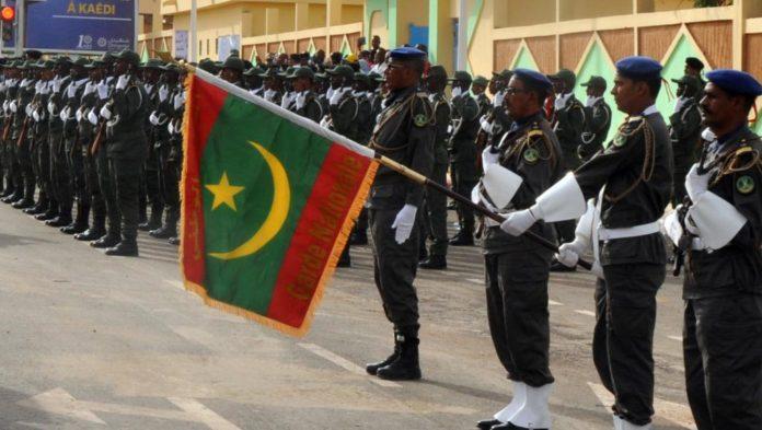 Des Soldats de la Mauritanie