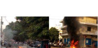 Guinée, manifestations dans les rues de Kaloum