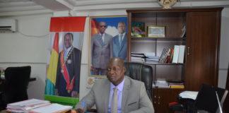 Sékou Kourouma ministre de la fonction publique