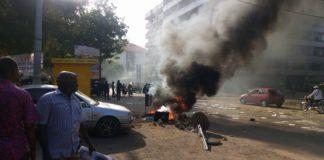 Grève et manifestations en guinée kaloum