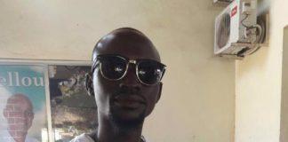 Boubacar Barry militant de l'ufdg tué par un gendarme à Wanindara