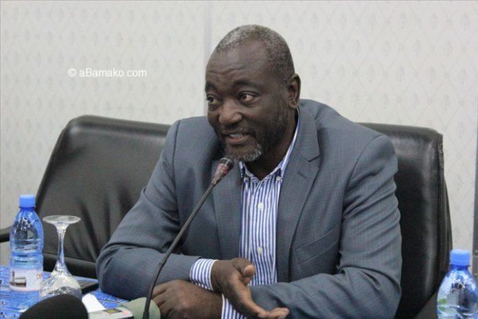 Dr Oumar Mariko, leader du parti Solidarité africaine pour la démocratie et l'indépendance (SADI)