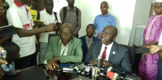 Ceni Guinée et un délégation de l'UDG