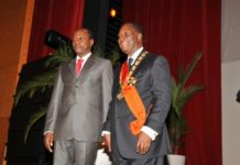 Alhassane Ouattara et Alpha Condé