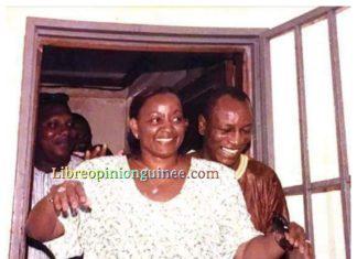 Alpha Condé et dame Mama Kanny Diallo