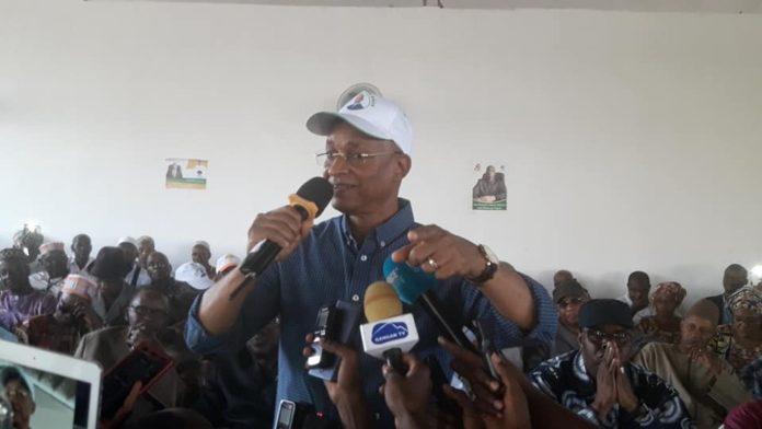 Elhadj Cellou Dalein Diallo President de l'ufdg , au siège de son parti
