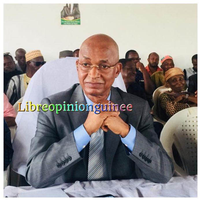 Cellou Dalein Diallo au siège de l'ufdg