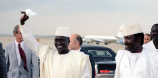 Ahmed Sékou Touré, ancien président de la République de Guinée