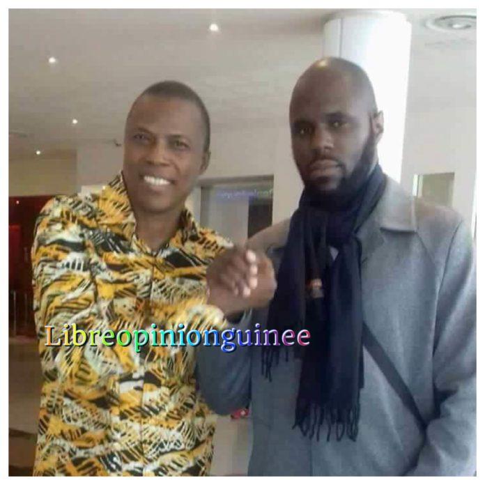 L'activiste Kemi Seba et l'ancien ministre Siaka Barry