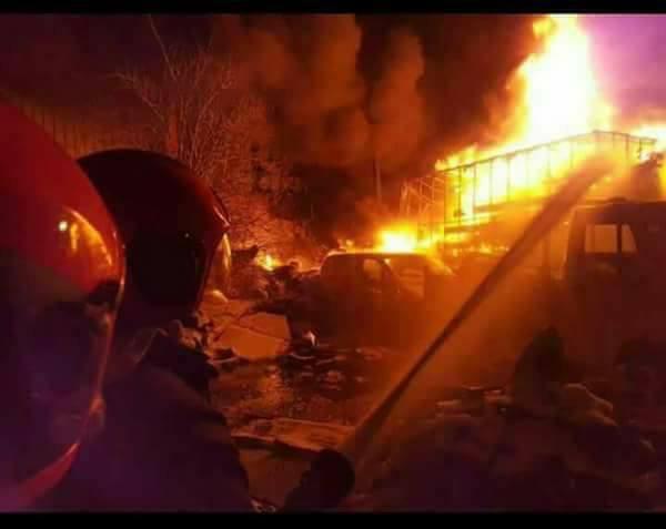 Grave incendie au grand marché de Madina