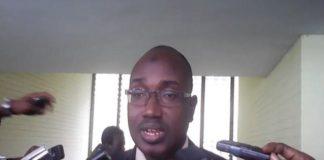 Le président d'INIDH, Mamady Kaba