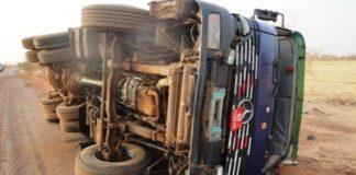 accident camion kindia guinée
