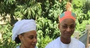 Cellou Dalein Diallo et sa deuxième épouse, madame Kadiatou Bah