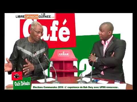 Bah Oury dans café débat