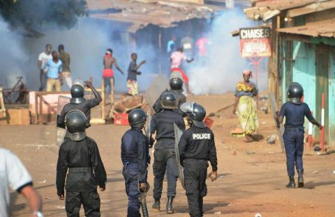 manif-conakry-guinee, police