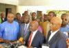 L'opposition guinéenne au QG de l'UFDG