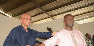 Aboubacar Akoumba Diallo et Cellou Dalein Diallo
