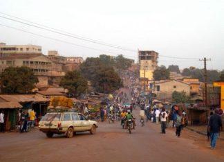 Vue panoramique de la ville de Labé