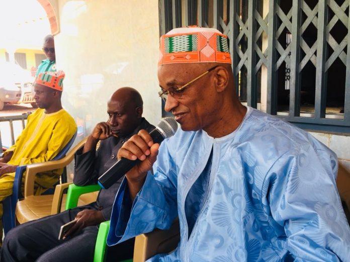 Cellou Dalein Diallo à Dalaba