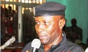 Le Colonel Amadou Bangoura, ex commandant de la Brigade Spéciale d'intervention de la police ( BSIP)