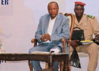 Alpha Condé président de la Guinée à la semaine du numérique