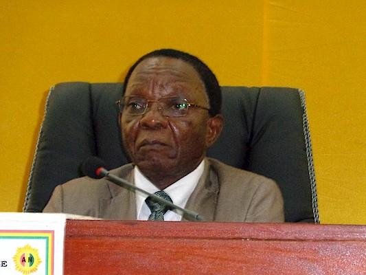 .Claude Kori Kondiano président de l'Assemblée nationale de Guinée