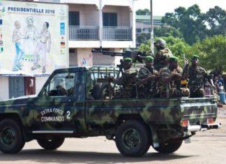 militaires guinéenne