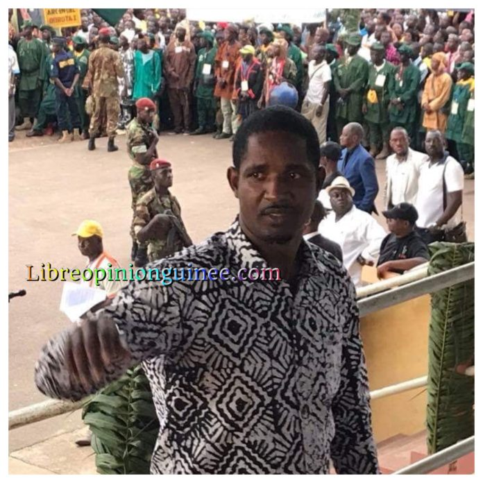 Mouctar Diallo des Nfd à N'Zérékoré