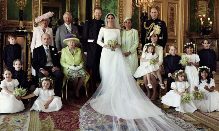 Photo du Mariage du prince Harry et de Meghan