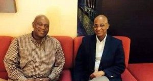 Cellou Dalein Diallo et Amadou Damaro Camara