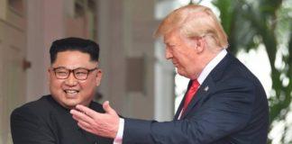 Donald Trump et Kim Jong-un donnent le coup d'envoi de leur face-à-face historique et longtemps inimaginable après des décennies de tensions liées aux ambitions nucléaires de Pyongyang.