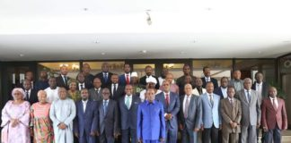 Alpha Condé et le gouvernement de Kassory Fofana