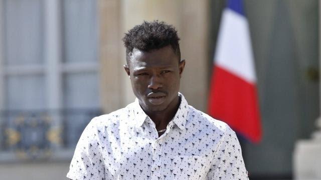 Mamoudou Gassama sauveur d'un petit garçon à paris