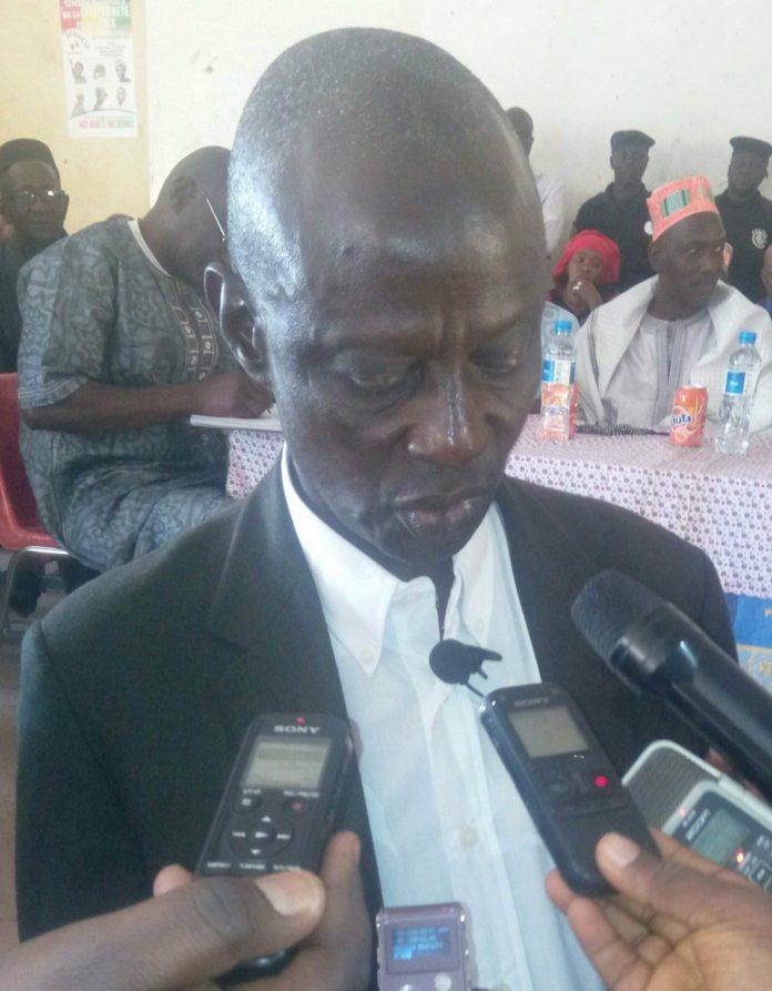 Elhadj lamine Sangaré secrétaire général CNTG Labé
