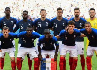 Equipe de france 2018, finale coupe du monde Russie 2018