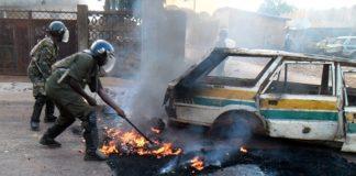violences à Labé manifestations