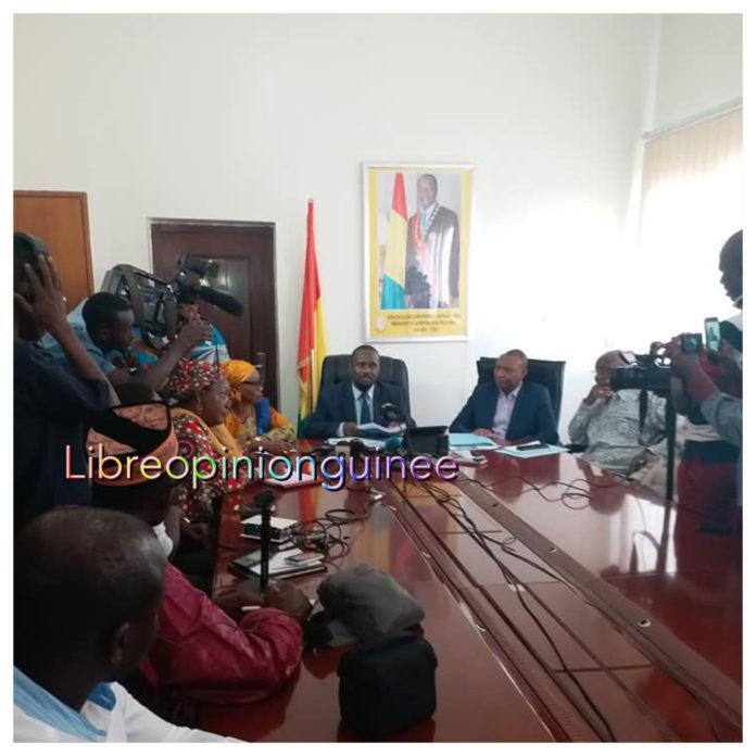 Aboubacar Sylla ministre des transports