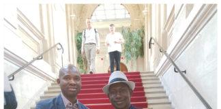 Macka Balde administrateur général de libreopinionguinee et Makanera kaké